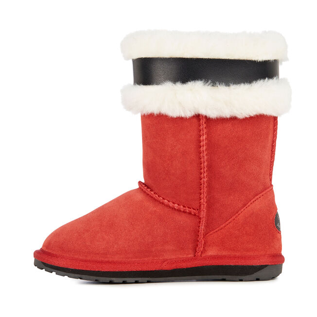 Santa Boots, RED, hi-res