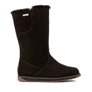 SANDY BAY HI Womens Liner Skin Boot - BLACK