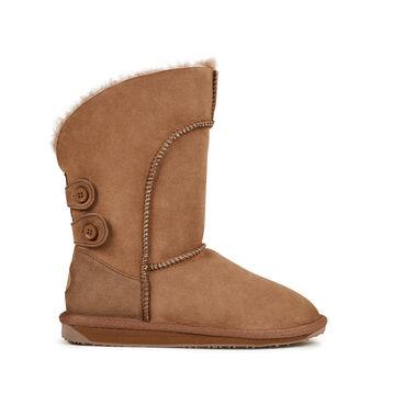 ALBA Womens Sheepskin Boot - MUSHROOM