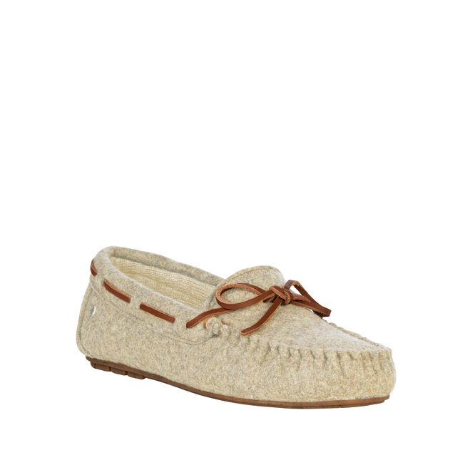 LENAH Womens Felt Wool Mocc - SAND MARLE