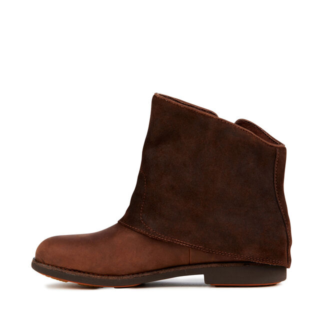 HEYSEN Womens Cow Leather Boot - WOODBLOCK