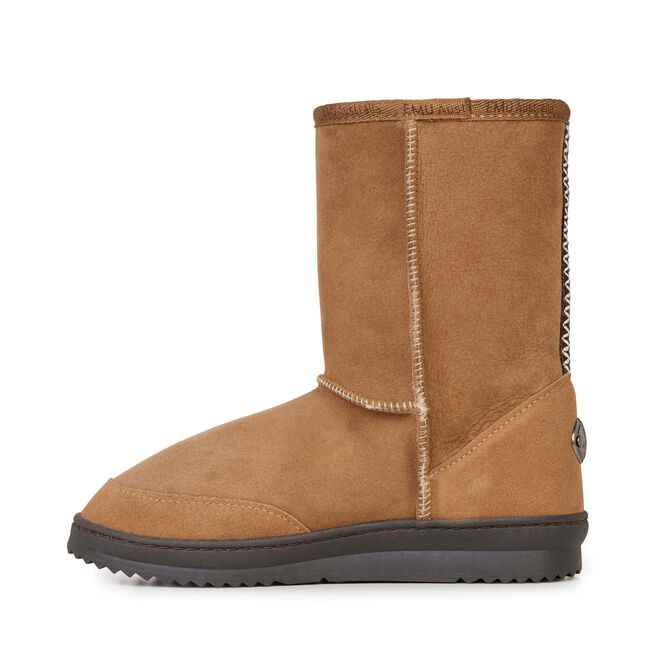 PLATINUM OUTBACK LO Womens Sheepskin Boot - CHESTNUT