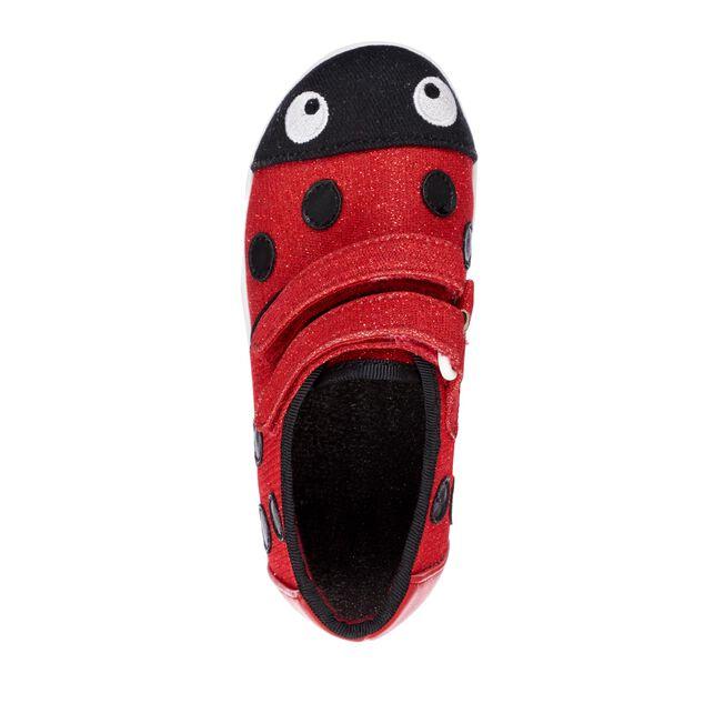 Ladybird Sneaker, RED, hi-res