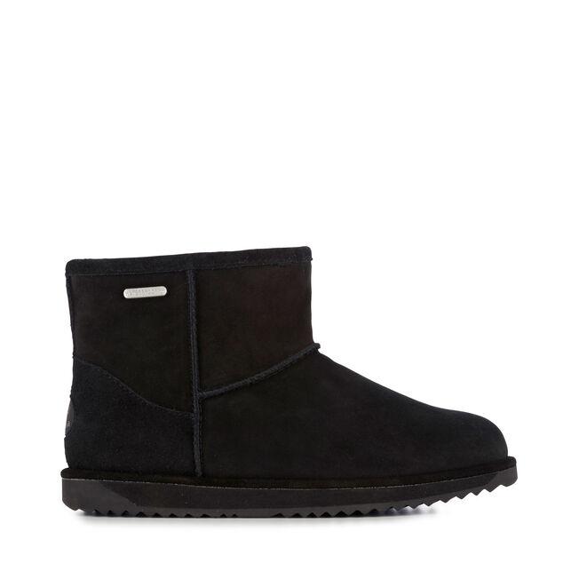 Paterson Mini Womens Liner Skin Boot - BLACK