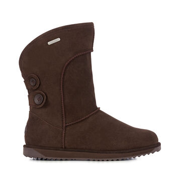 CHARLOTTE Womens Liner Skin Boot - CHOCOLATE