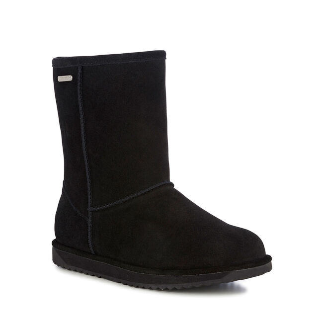 PATERSON LO Womens Liner Skin Boot - BLACK