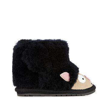 小羊學步靴, BLACK, hi-res