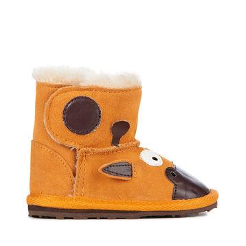 LC WALKER GIRAFFE Kids Deluxe Wool Boot - GOLD