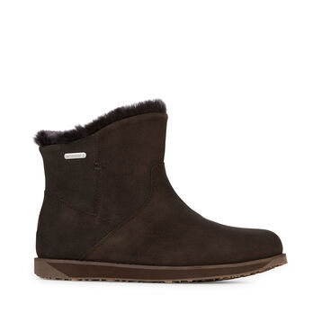 Tasman Mini Womens Liner Skin Boot - CHOCOLATE