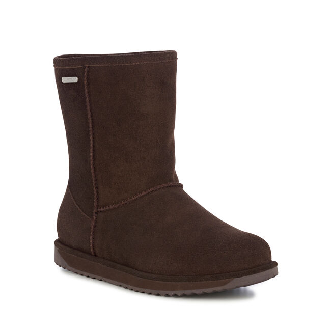 PATERSON LO Womens Liner Skin Boot - CHOCOLATE