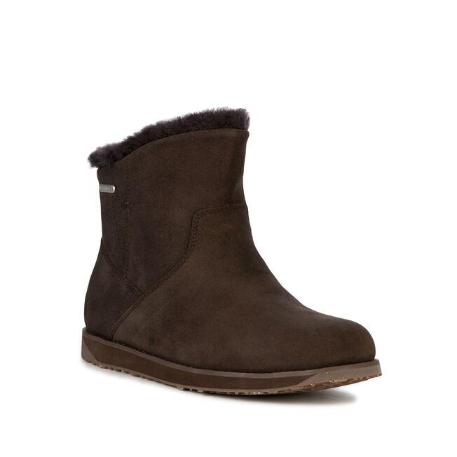 Tasman Mini Womens Liner Skin Boot - CHOCOLATE