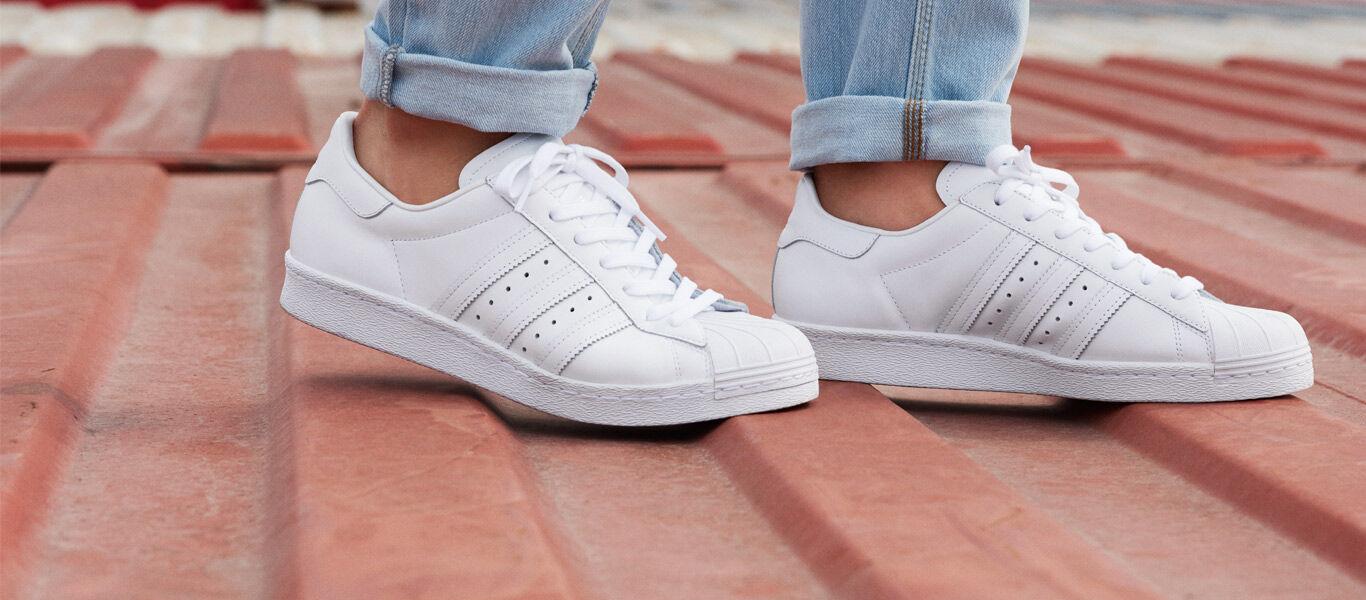 Adidas Superstar Blanco Con Colores
