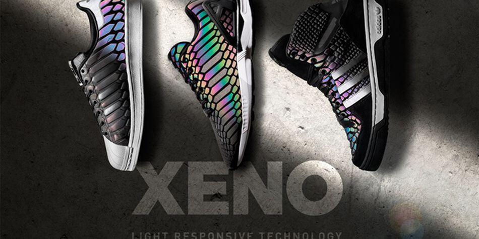 Adidas Zx Flux Xeno Black Light Holographic