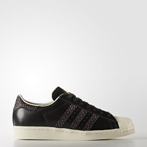 adidas - Hommes Superstar 80s Shoes Core Black/Craft Pink/Off White S75846