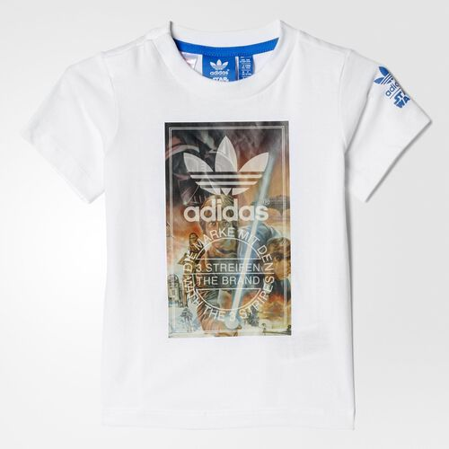 adidas - Infants Star Wars Archive Tee White AB4024