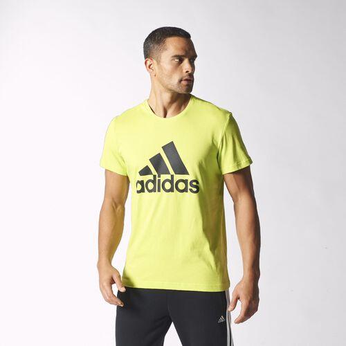 adidas - Hommes Sport Essentials Logo Tee Semi Solar Yellow S23021