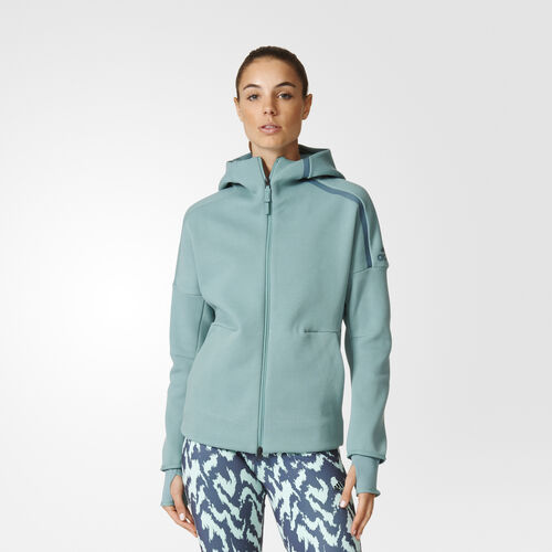 adidas - Femmes adidas Z.N.E. Hoodie Vapour Steel S94563