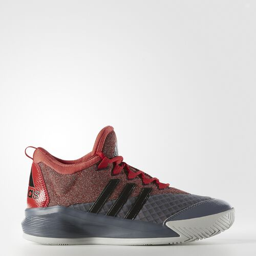 adidas - Men's Crazylight 2.5 Active Shoes Vivid Red S13 / Core Black / Clear Onix AQ8598