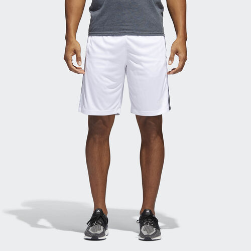 adidas - Shorts D2M 3-Stripes WHITE/BLACK BR1459