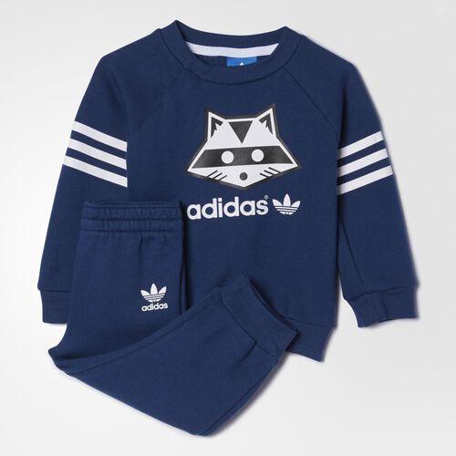 adidas - Infants Raccoon Set Oxford Blue  / White AB4016