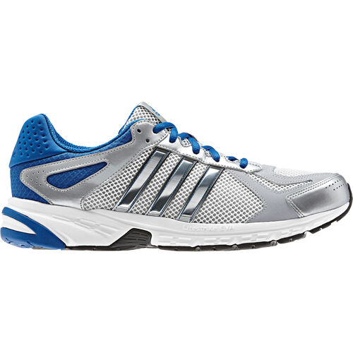 adidas - Men's Duramo 5 Shoes Running White / Blue Beauty / Metallic Silver G96532