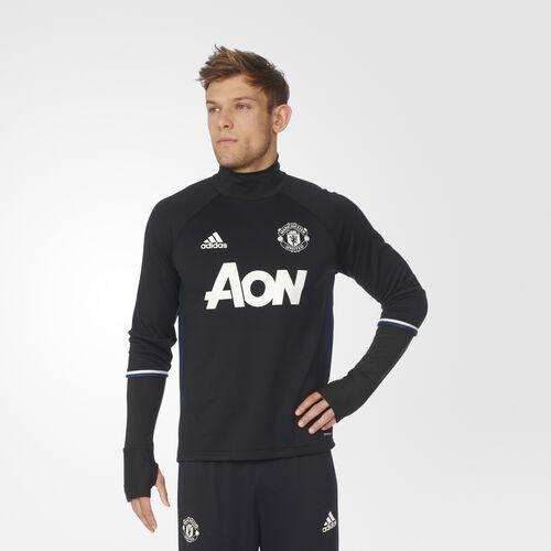 adidas - Men's Manchester United FC Training Top Black/Collegiate Navy/Chalk White AP1023