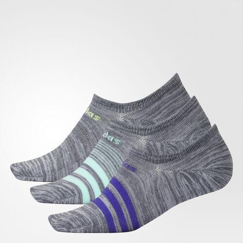 adidas - Superlite No-Show Socks 3 Pairs Onix CI0714