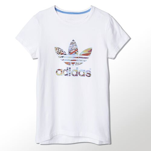 adidas - Youth Flower Tee White S14446