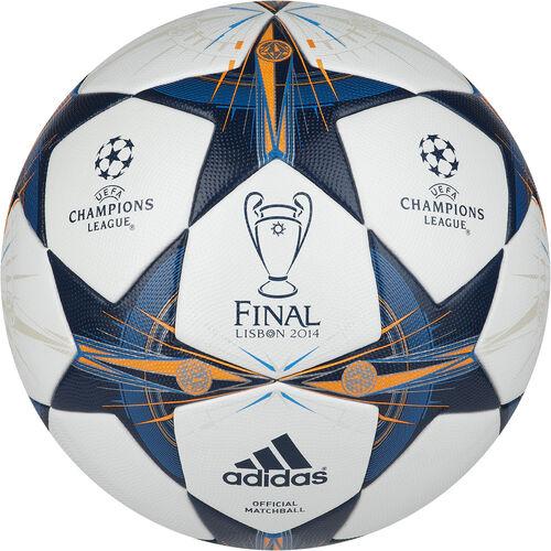 adidas - Hommes Finale Lisbon Official Match Ball White / Tribe Blue / Solar Blue G82974