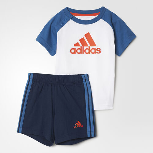adidas - I SUM SET BOYS White/Core Blue BP5311