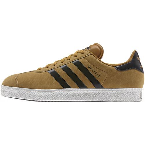 adidas - Men's Gazelle 2.0 Shoes Wheat / Black / White Vapour D65446