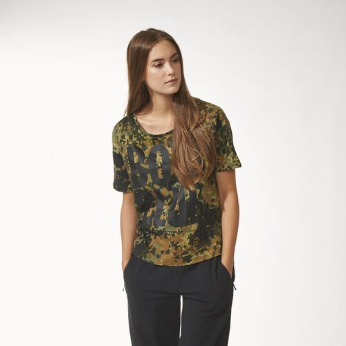 adidas - Women's Camouflage Tee Multicolor M30367