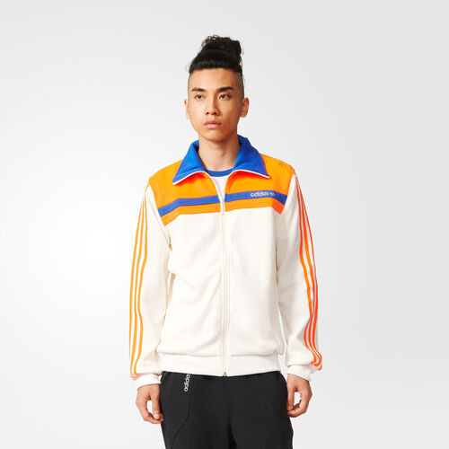 adidas - Men's Nite Jogger Track Jacket Chalk White AB7771