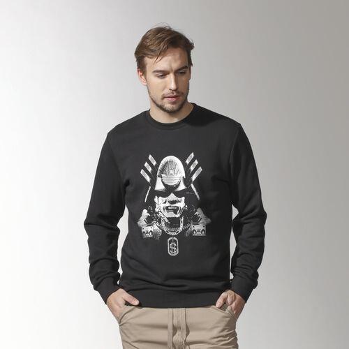 adidas - Men's Street Crewneck Sweater Black S19343