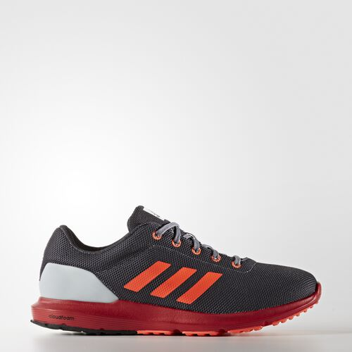 adidas - Men's Cosmic 1.1 Shoes Onix / Solar Red / Clear Grey BA8707
