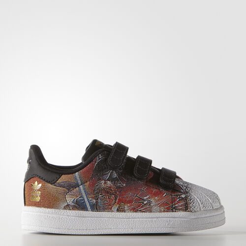 adidas - Infants Star Wars Superstar Shoes Core Black/Core Black/White B24727
