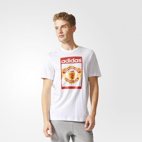 adidas - Hommes Manchester United Tounge Tee White AI7413