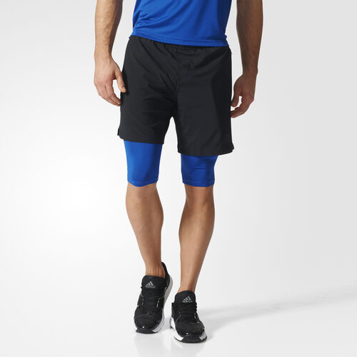 Men's Climacool Two-in-One Speed Shorts Adidas
