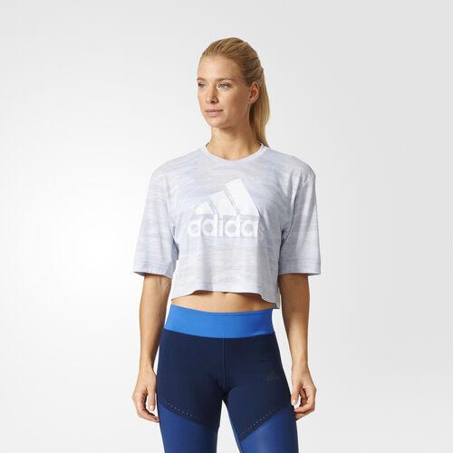 adidas - BOX CROP T AERO White/Clear Onix BK2697