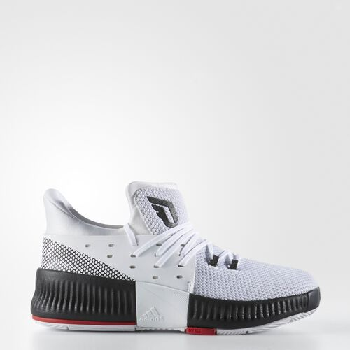 adidas - Dame 3 Shoes Running White Ftw  /  Black  /  Light Scarlet BB8278