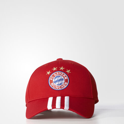 adidas - FC Bayern 3-Stripes Cap Fcb True Red S95109