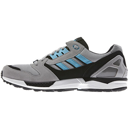 adidas - Men's ZX 8000 Shoes Aluminium / Samba Blue / White Vapour D65458