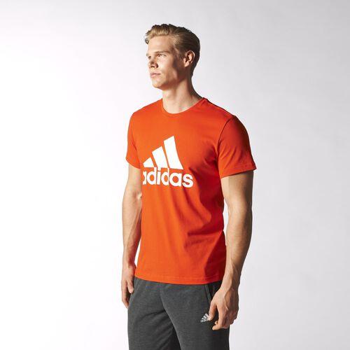 adidas - Hommes Logo Tee Bold Orange S23019