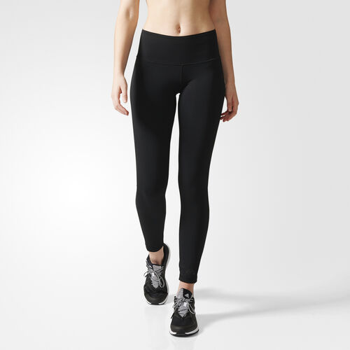 adidas - Women's Ultimate Fit High-Rise Long Tights Black AI3749