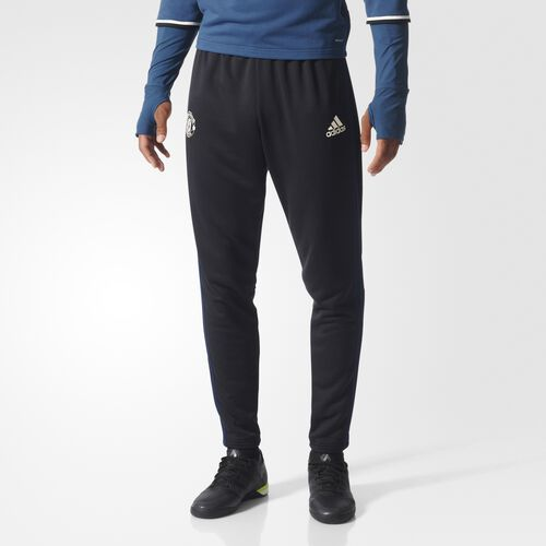 adidas - Men's Manchester United FC Football Pants Black / Collegiate Navy / Chalk White AP1012