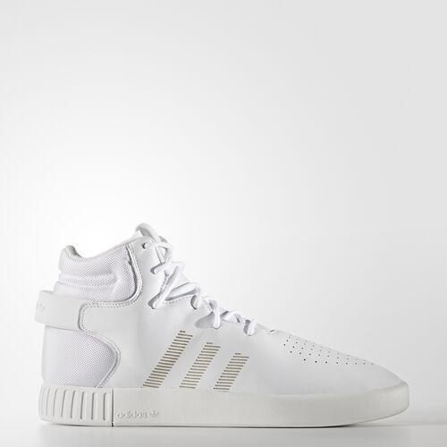 adidas - Men's Tubular Invader Shoes White/ White/Chalk White S81794