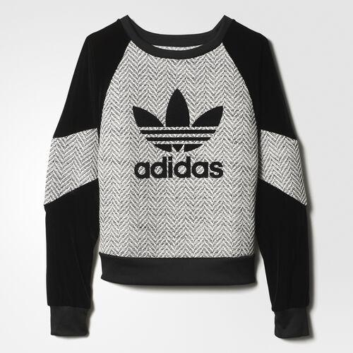 adidas - Women's Regista Sweatshirt Chalk White/Black AY4930