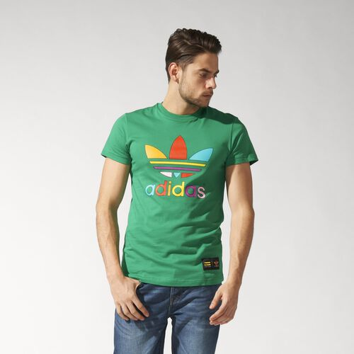adidas - Supercolour Trefoil Tee Green AC5938