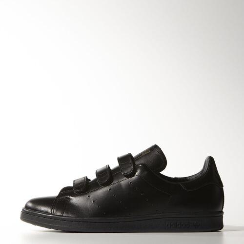 adidas - Men's Nigo Stan Smith Shoes Core Black / Core Black / Matte Gold B25998