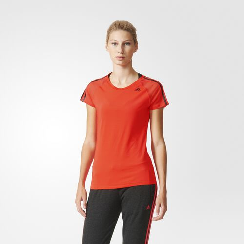 adidas - Femmes Athletic Tee Shock Red AJ4999